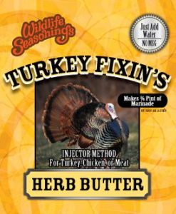 Turkey Fixin's - HERB BUTTER