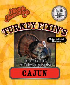 Turkey Fixin's - CAJUN