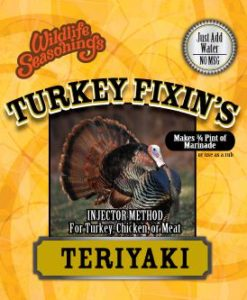 Turkey Fixin's - TERIYAKI