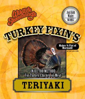 Turkey Fixin's - TERIYAKI
