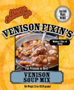 Venison Fixin's - SOUP