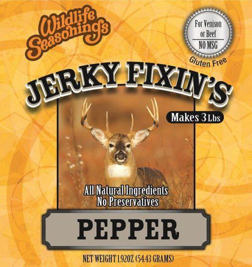 Jerky Fixin's - PEPPER